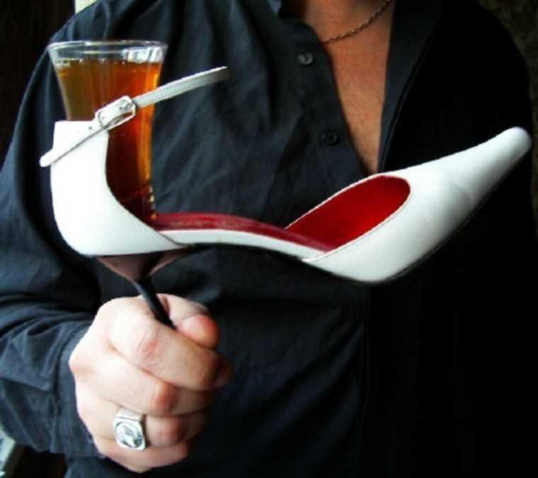 стакан в туфле-1